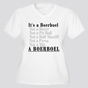 It's a Boerboel Women's Plus Size V-Neck T-Shirt