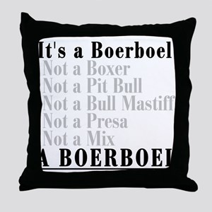 It's a Boerboel Throw Pillow