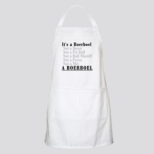 It's a Boerboel Apron