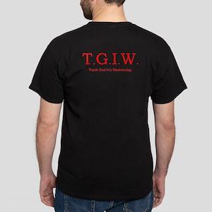 Thank God It's Wednesday Dark T-Shirt