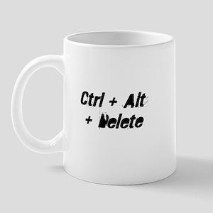 Ctrl + Alt + Delete Mug