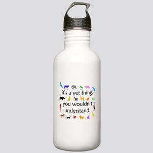 It's A Vet Thing Stainless Water Bottle 1.0L