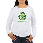 recycle bunny Women's Long Sleeve T-Shirt