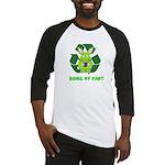 recycle bunny Baseball Jersey