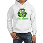 recycle bunny Hooded Sweatshirt