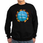 ring of fire pacific ocean Sweatshirt (dark)