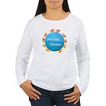 ring of fire pacific ocean Women's Long Sleeve T-S