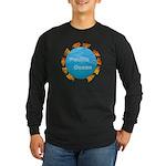ring of fire pacific ocean Long Sleeve Dark T-Shir