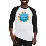 ring of fire pacific ocean Baseball Jersey