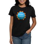 ring of fire pacific ocean Women's Dark T-Shirt