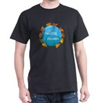 ring of fire pacific ocean Dark T-Shirt