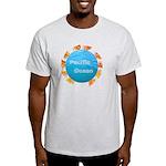 ring of fire pacific ocean Light T-Shirt