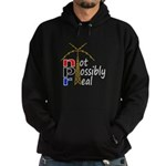not possibly real Hoodie (dark)