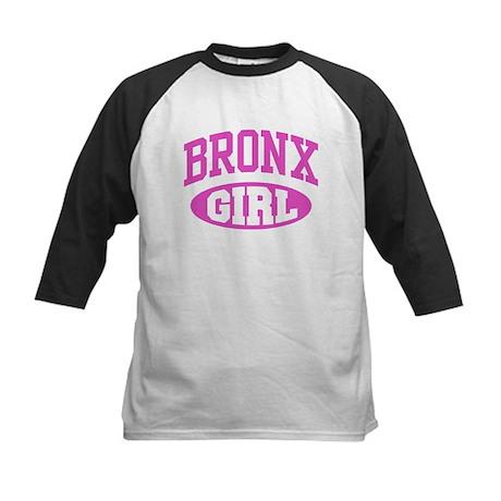 Bronx Girl Kids Baseball Jersey