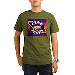Club Jesus Organic Men's T-Shirt (dark)