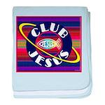 Club Jesus baby blanket