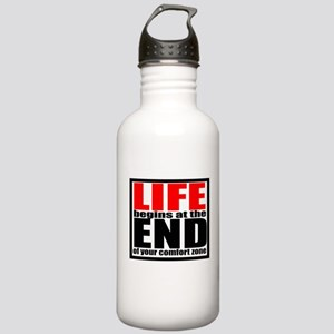 Life begins... Stainless Water Bottle 1.0L