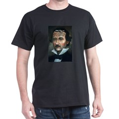 American Romantic Poets Edgar Black T-Shirt
