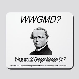 What Would Gregor Mendel Do? Mousepad