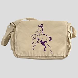 Sigma Lambda Beta Horse Messenger Bag
