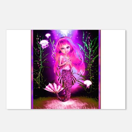 Best Seller Merrow Mermaid Postcards (Package of 8