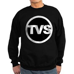 TVS Round Logo - Black Sweatshirt (dark)