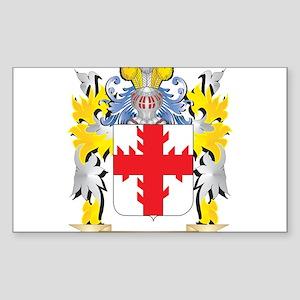 Wachowiak Family Crest - Coat of Arms Sticker