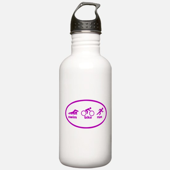 Swim Bike Run Water Bottle