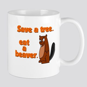 Funny Save A Tree Mug