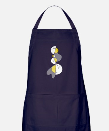 you have to break a few eggs Apron (dark)