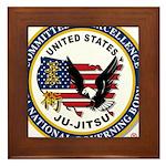 US JU-JITSU Framed Tile