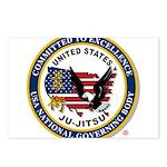 US JU-JITSU Postcards (Package of 8)
