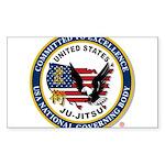 US JU-JITSU Sticker