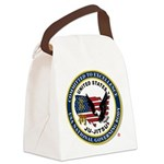US JU-JITSU Canvas Lunch Bag