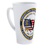 US JU-JITSU 17 oz Latte Mug