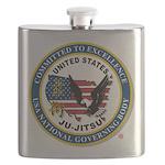 US JU-JITSU Flask