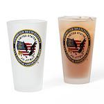 US JU-JITSU Drinking Glass