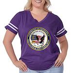 US JU-JITSU Women's Plus Size Football T-Shirt