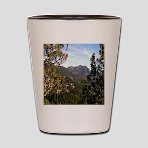 Sierra Mountain Vista Shot Glass