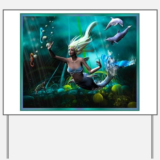 Best Seller Merrow Mermaid Yard Sign