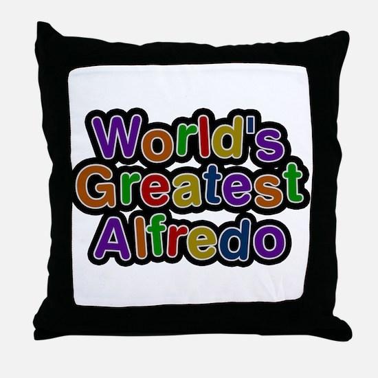 Worlds Greatest Alfredo Throw Pillow