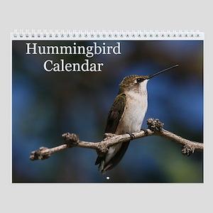 Hummingbird Wall Calendar