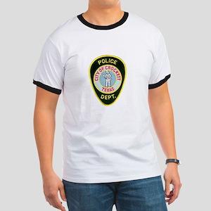 Crockett Police Ringer T