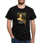 Frankenstein: Mary Shelley's  Black T-Shirt