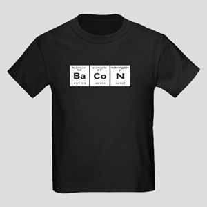 Bacon elements Kids Dark T-Shirt