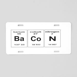 Bacon elements Aluminum License Plate