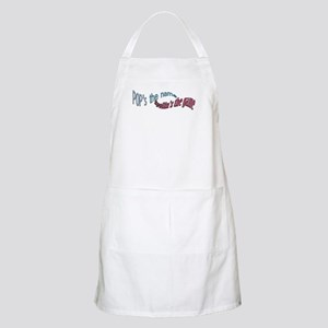 POPS THE NAME spoilins the ga Apron
