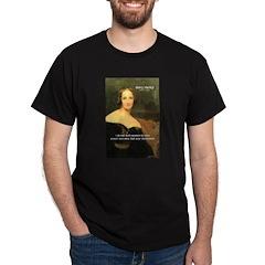 Novelist Mary Shelley Black T-Shirt