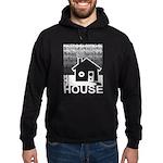 Get in the House Music Hoodie (dark)