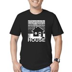 Get in the House Music Men's Fitted T-Shirt (dark)